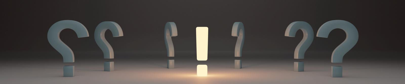 Symbolbild Fragen & Antworten